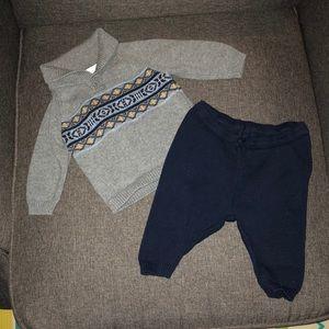 Angel Dear Matching Sets - Baby boy sweater set.